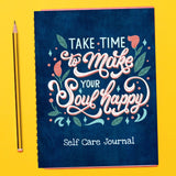 Printed Self Care Journal for Teachers