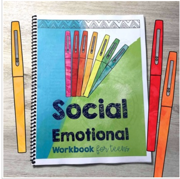 Social Emotional Learning Workbook for Teens (digital file only)