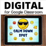 Calm Down Corner with Videos for Google Slides - All Ages