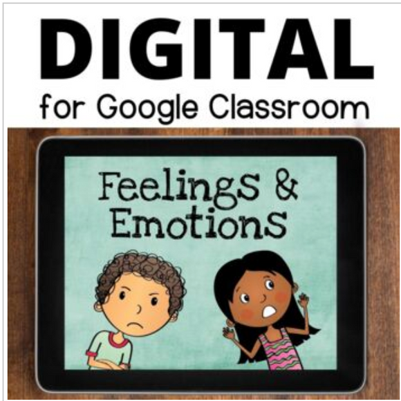 Feelings and Emotions Interactive Lesson for Google Slides