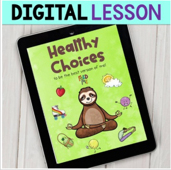 Healthy Habits Digital Lesson