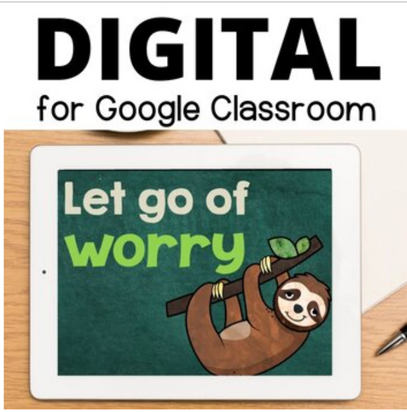 Worry Lesson on the Things I Can and Cannot Control for Google Classrooms