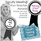 Faculty Morale Resources for Schools