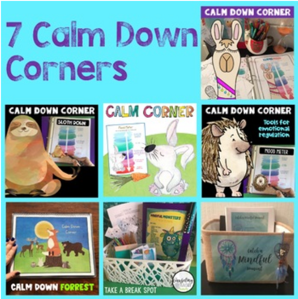 Calm Down Corner Variety Kit with 7 themes