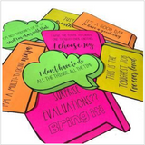 Faculty and Staff Morale Printables to spread positivity and humor
