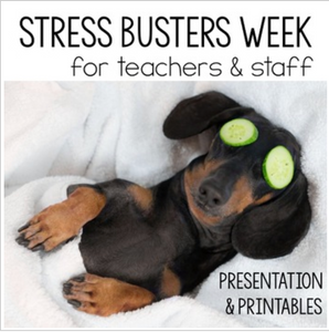Stress Relief Week Kit for Faculty