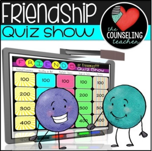 Healthy Friendships Game Show