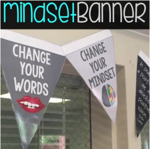Growth Mindset Quick Print Banner
