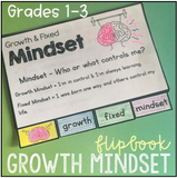 School Counselor Flip Book Bundle Grades 1-3