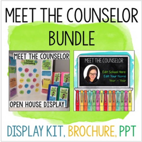 Meet the Counselor Display Kit, Brochure & Presentation