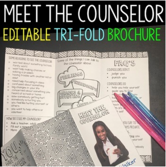 Meet the School Counselor Brochure for Students