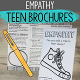 Social Emotional Learning Brochures for Teens (Upper middle and High School)