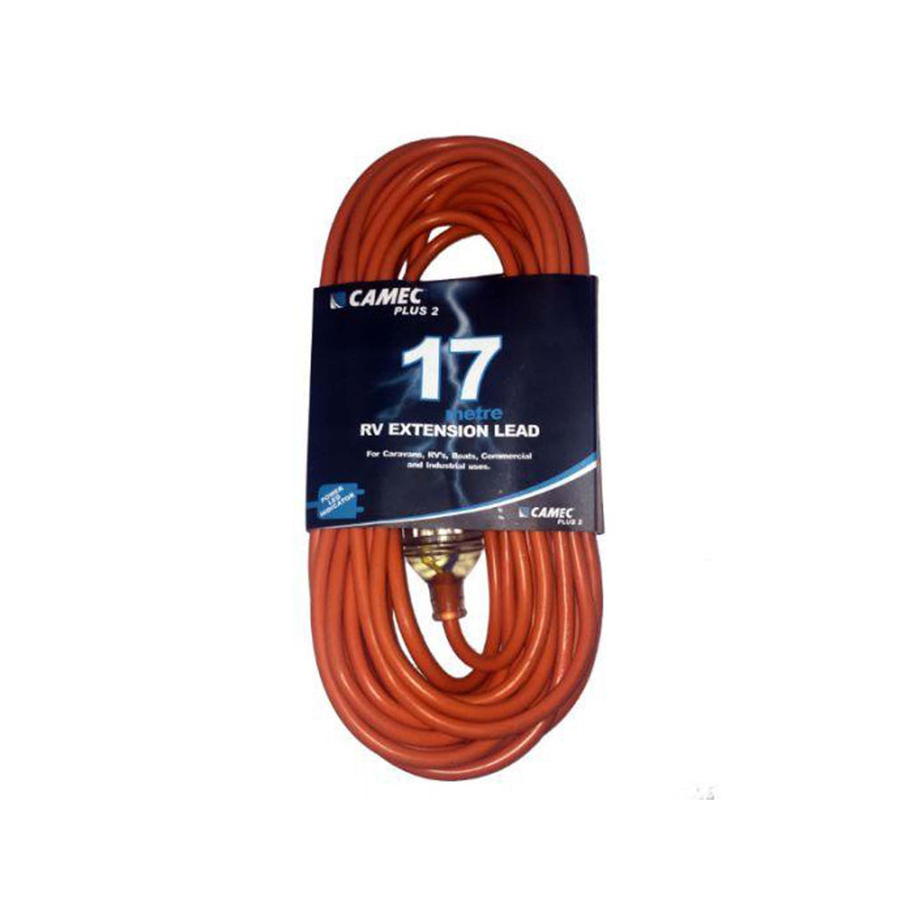 CAMEC 17M 15A EXTENSION LEAD FOR RV USE ONLY 1
