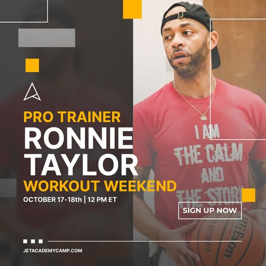 Pro Trainer Weekend: RONNIE TAYLOR