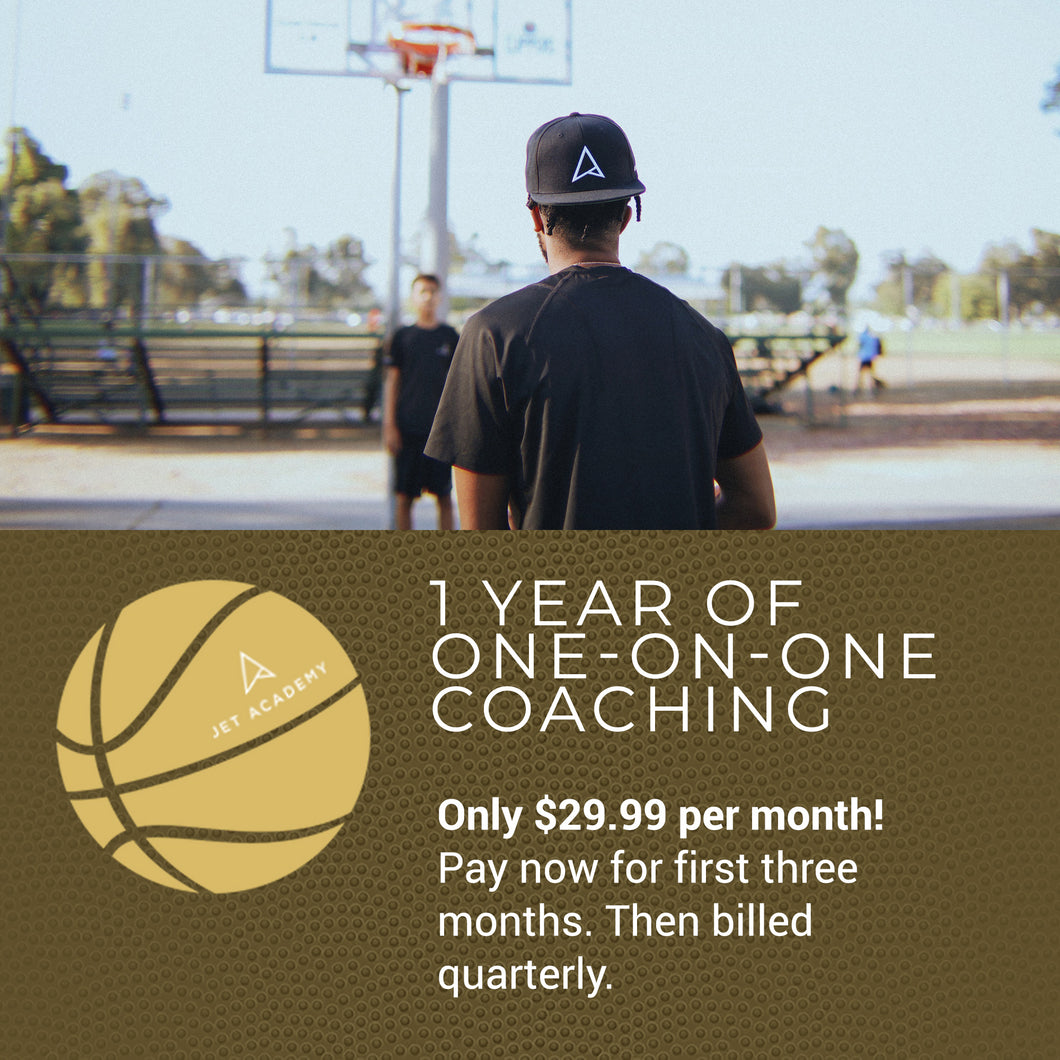 One-On-One Coaching: 1 Year