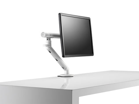 side view of monitor stand