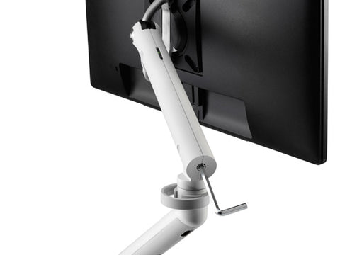 back view of monitor stand