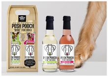 Load image into Gallery viewer, Posh Pooch Dog Wine Duo Gift Box