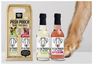 Posh Pooch Dog Wine Duo Gift Box