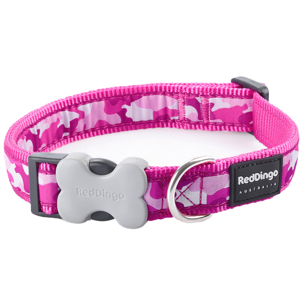 Pink Camouflage Collar