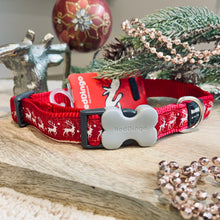 Load image into Gallery viewer, Winter Reindeer Collar