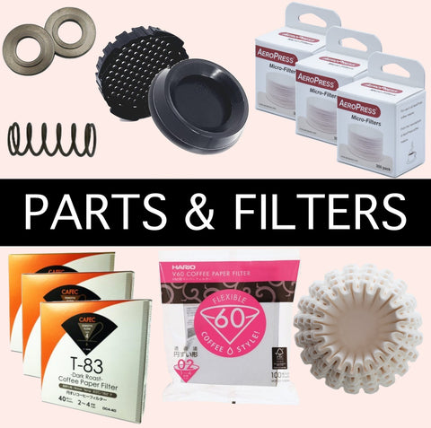 Coffee Parts and filters Basic Barista Australia Melbourne