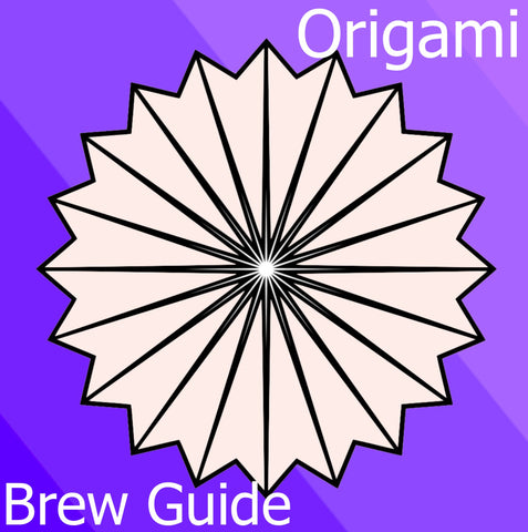 Origami dripper Brew Guide Iced Coffee Pour Over Basic Barista Australia Melbourne
