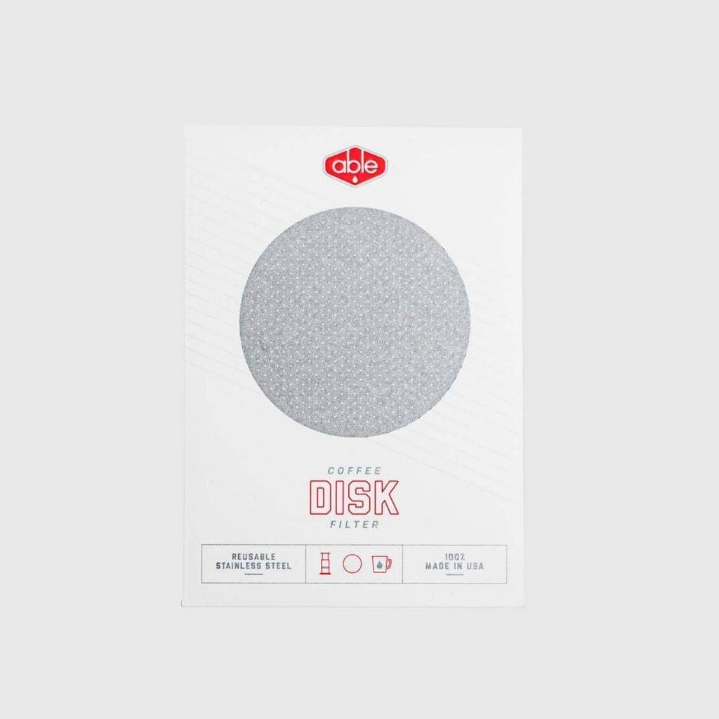Able Disk Standard Reusable AeroPress Filter basic barista