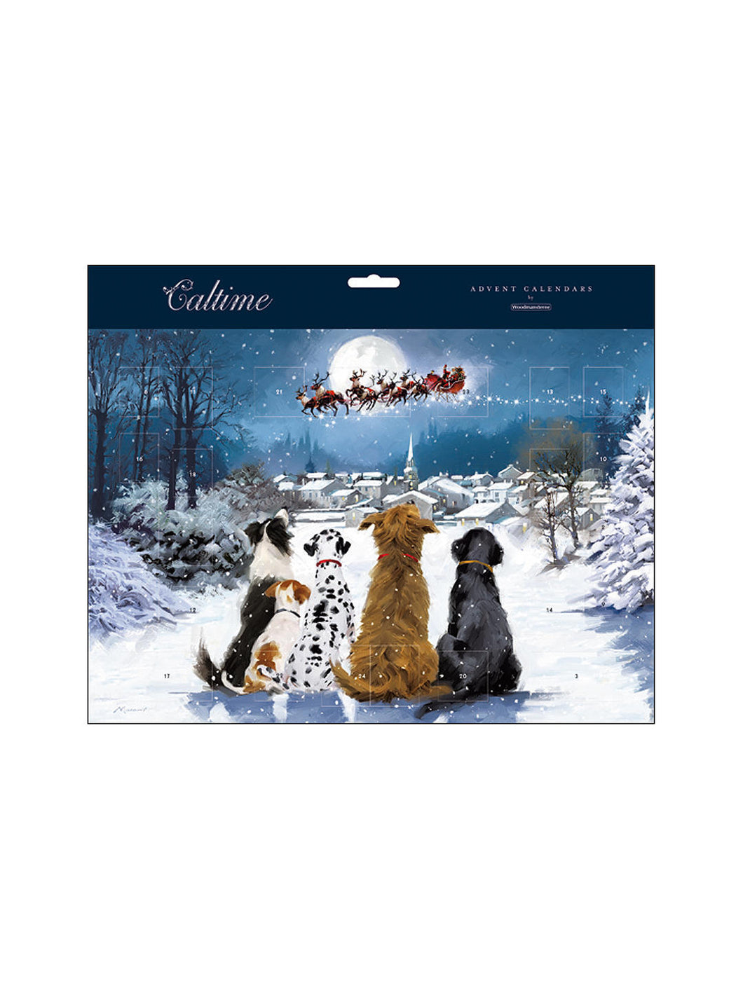 Advent calendar - Night before Christmas