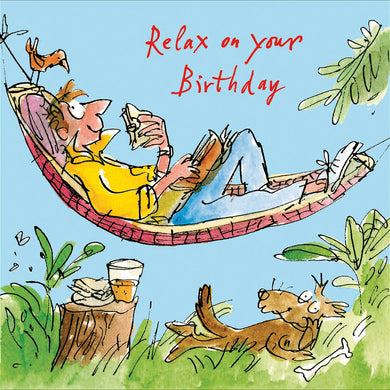 Relax on your Birthday - The Alresford Gift Shop