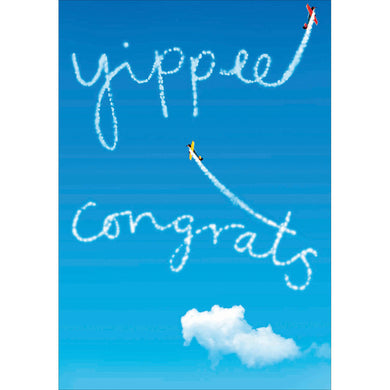 Yipee congratulations - The Alresford Gift Shop