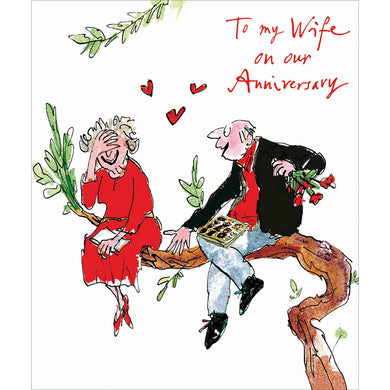 Quentin Blake Wife anniversary - The Alresford Gift Shop