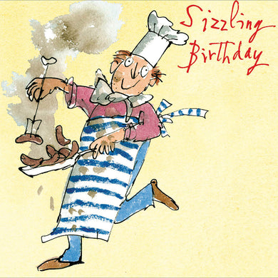 Sizzling Birthday - The Alresford Gift Shop