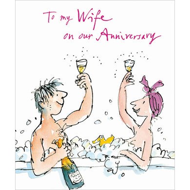 To my wife on our anniversary - The Alresford Gift Shop