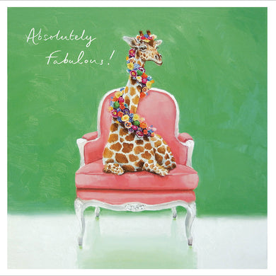 Absolutely fabulous giraffe - The Alresford Gift Shop