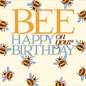 Bee Happy on your Birthday - Emma Bridgewater design