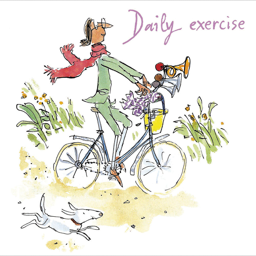 Daily exercise - Quentin Blake