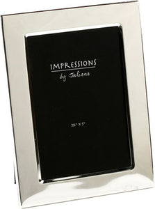 Impressions Silver plated picture frame - 5' x 7' - The Alresford Gift Shop