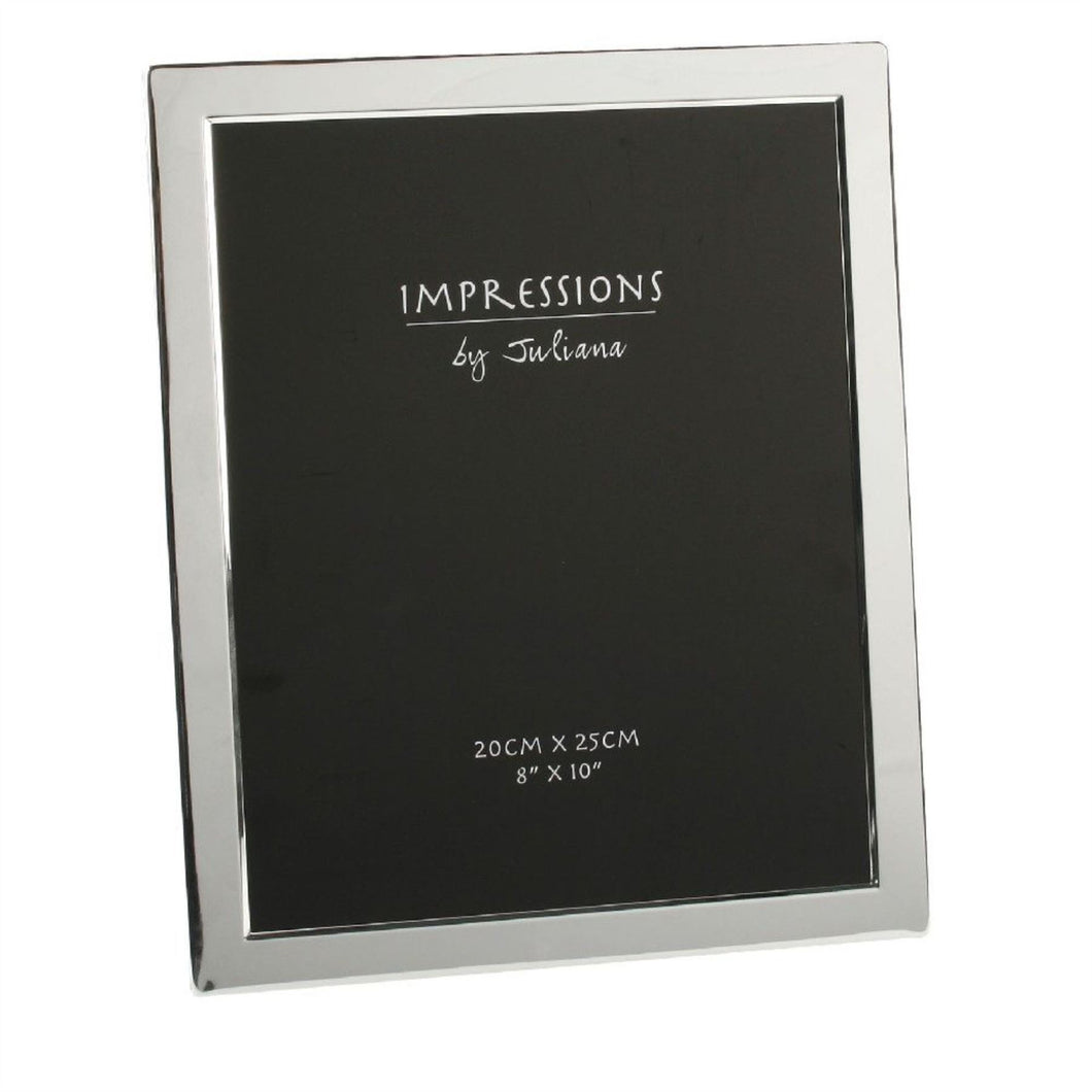 Impressions Silver plated picture frame - 8' x 10' - The Alresford Gift Shop