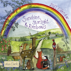 Alex Clark 2021 Calendar - Sunshine Starlight and Rainbows