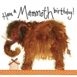 Have a mammoth birthday!
