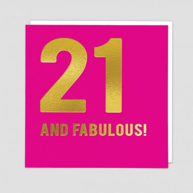 21 And Fabulous! - The Alresford Gift Shop