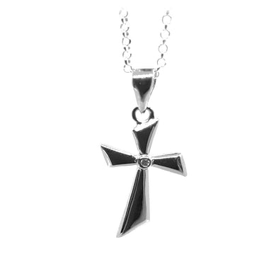 Sterling silver cross - The Alresford Gift Shop