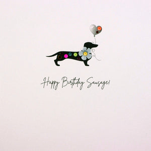 Happy Birthday Sausage! - The Alresford Gift Shop