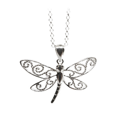 Sterling silver dragonfly - The Alresford Gift Shop