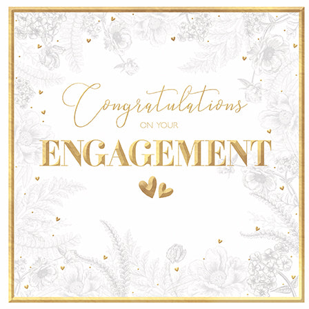 Congratulations on your Engagement - The Alresford Gift Shop