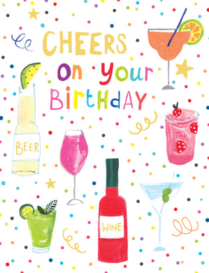 Cheers on your birthday - The Alresford Gift Shop