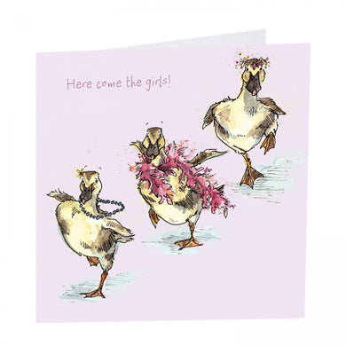 Here come the girls - The Alresford Gift Shop