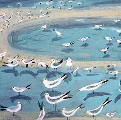 Birds Wading by Hannah Hann - The Alresford Gift Shop