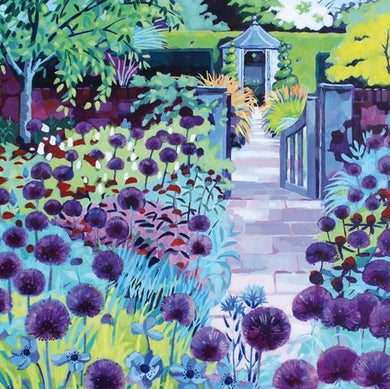 Allium Walk by Jenny Hancock - The Alresford Gift Shop